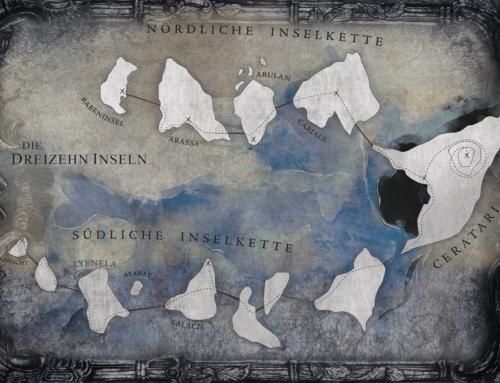 Fantastische Kartenwelten: Dreizehn Inseln